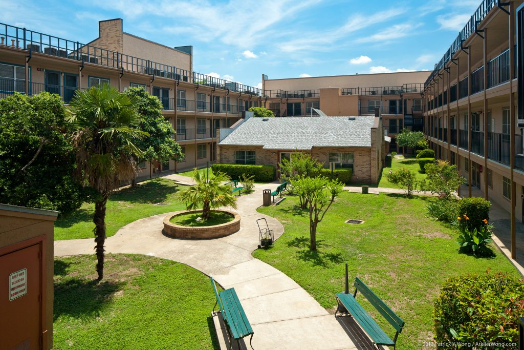 Gaston Place Courtyard