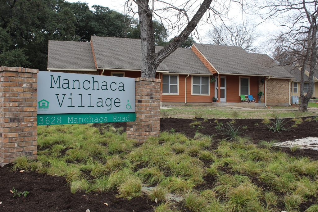 Manchaca Village Entrance
