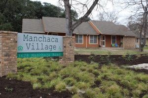 Manchaca Village Entrance