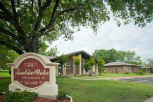 Bouldin Oaks Entrance